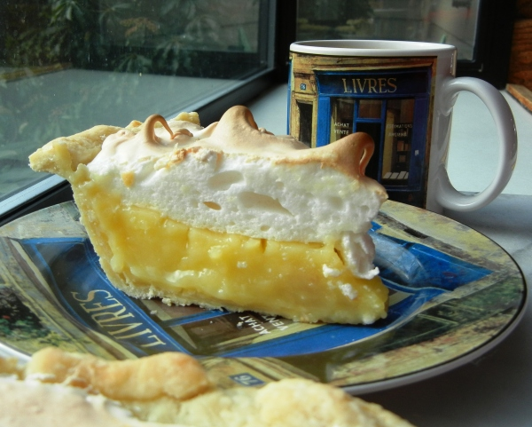 A Slice of Lemon Meringue Pie for Breakfast