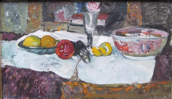 Still Life with Fruit on a Table